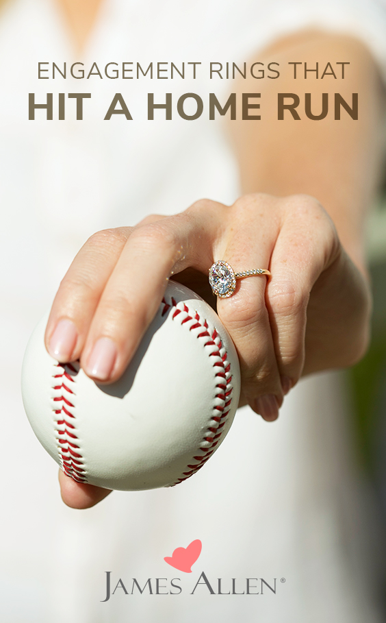 baseball engagement rings pin pinterest