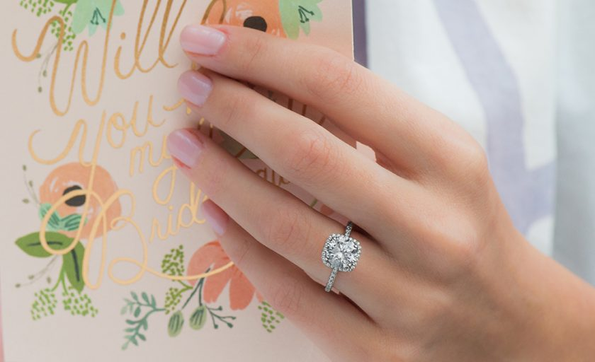 Enduring Platinum Engagement Rings