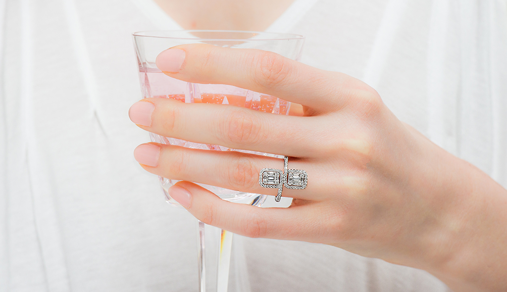 baguette diamond rings