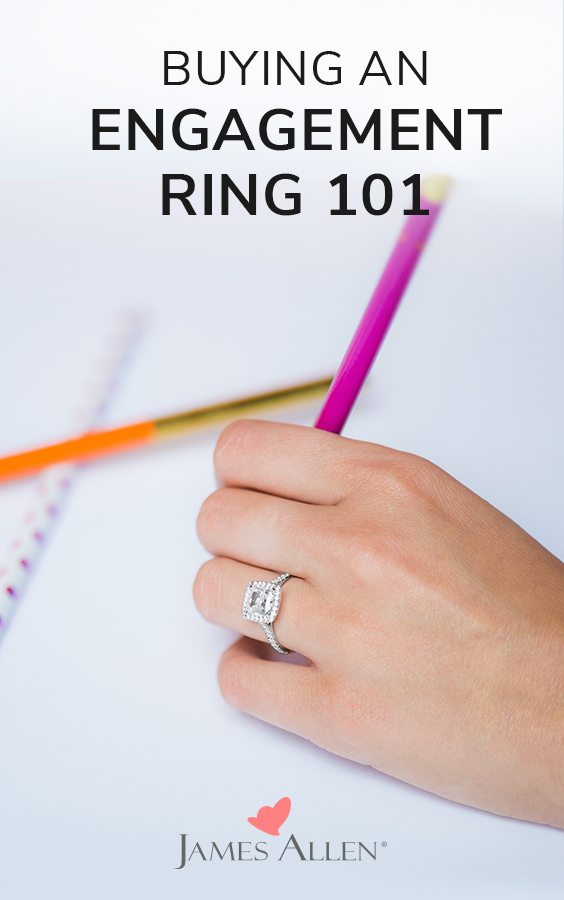 buying engagement ring 101 pin pinterest