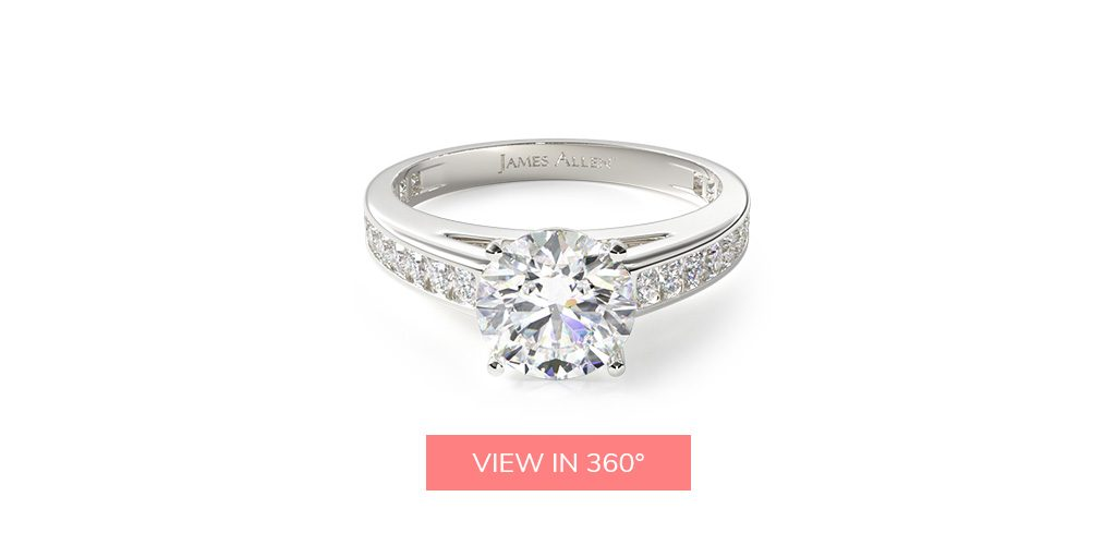 channel set buying engagement ring 101