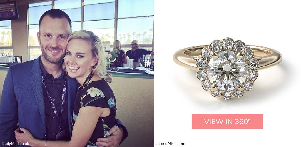laura bell bundy country stars' engagement rings