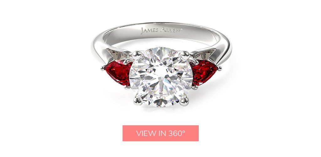 me before you red dress engagement rings inspired by most-loved books