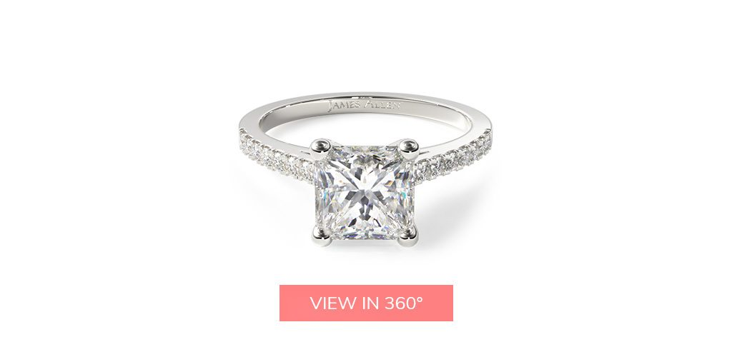 pave buying engagement ring 101