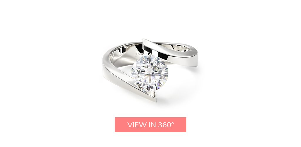 tension modern buying engagement ring 101