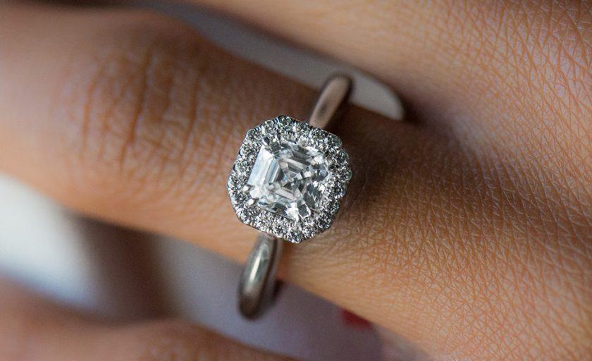 Asscher Cut Diamonds with Incredible Clarity