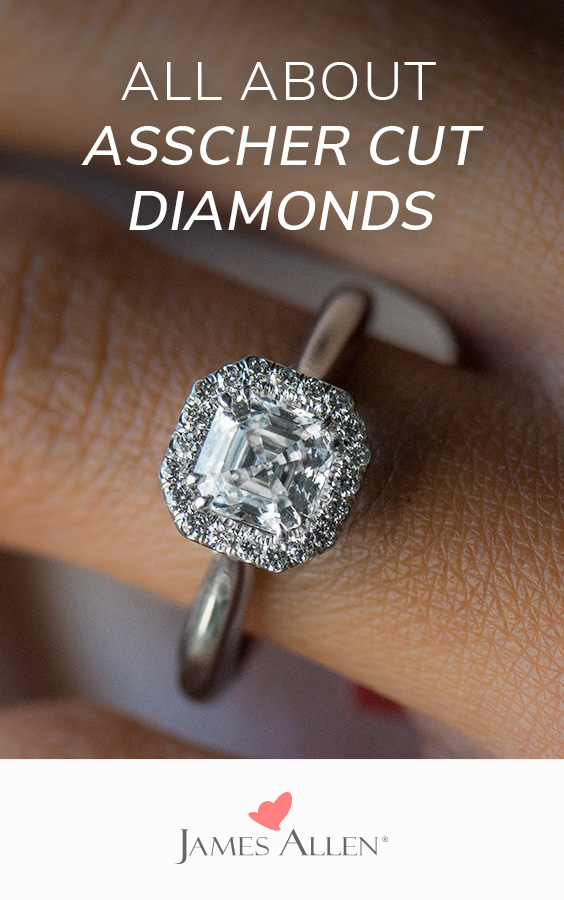 asscher cut diamonds pin pinterest