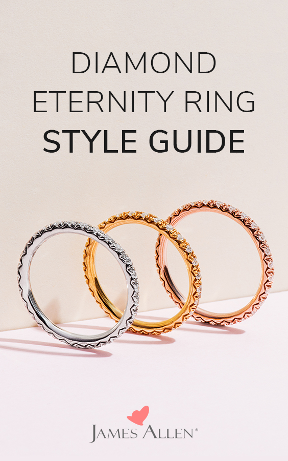 eternity rings pin pinterest