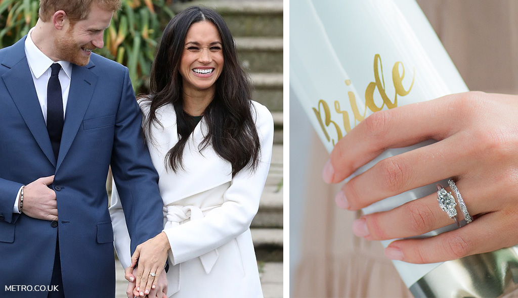 The Royal Wedding Matching Rings Made in Heaven The James Allen Blog
