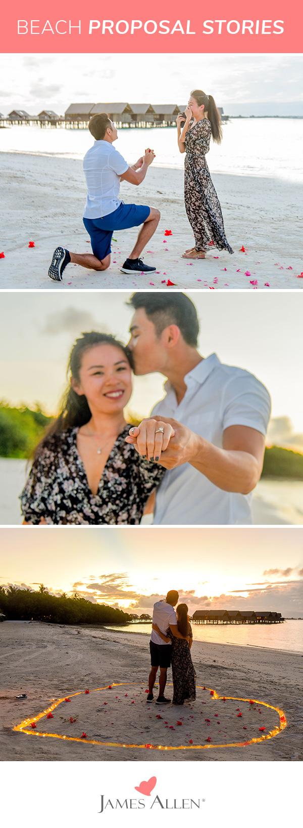beach proposal stories pinterest pin
