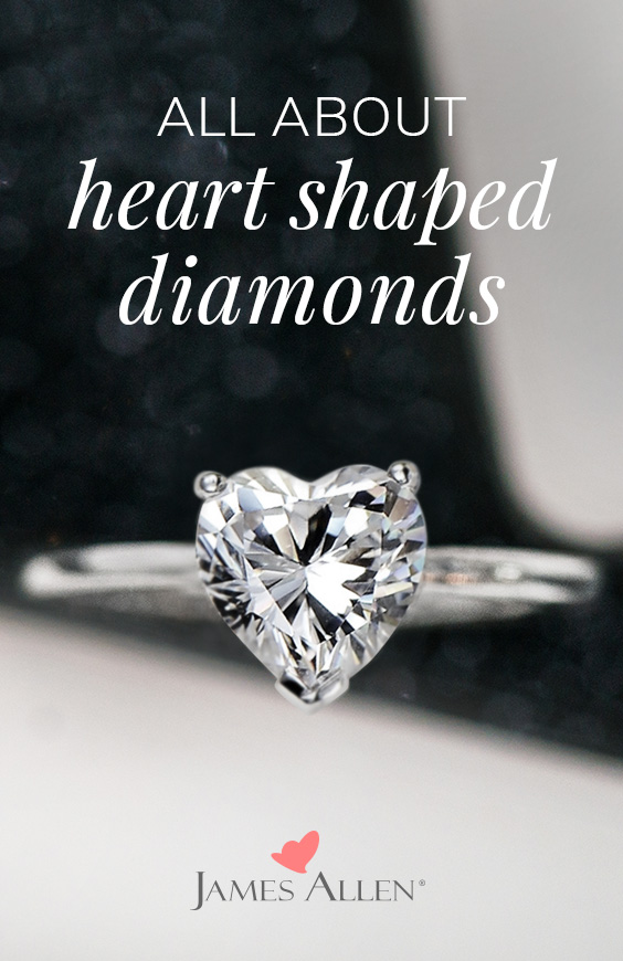 heart shaped diamonds pin pinterest