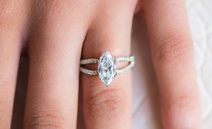 Marquise Cut Diamonds with Pointed Precision