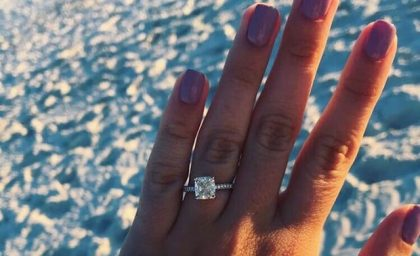 Engagement Rings Trending on Pinterest