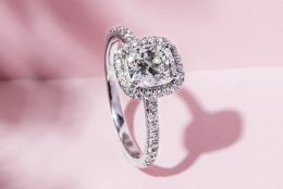 Cushion Cut Diamonds with a Classic Glow