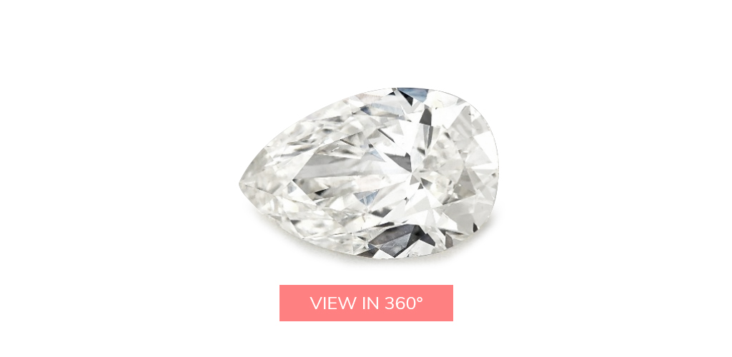 pear shaped diamonds 0.72 carat k si1 diamond