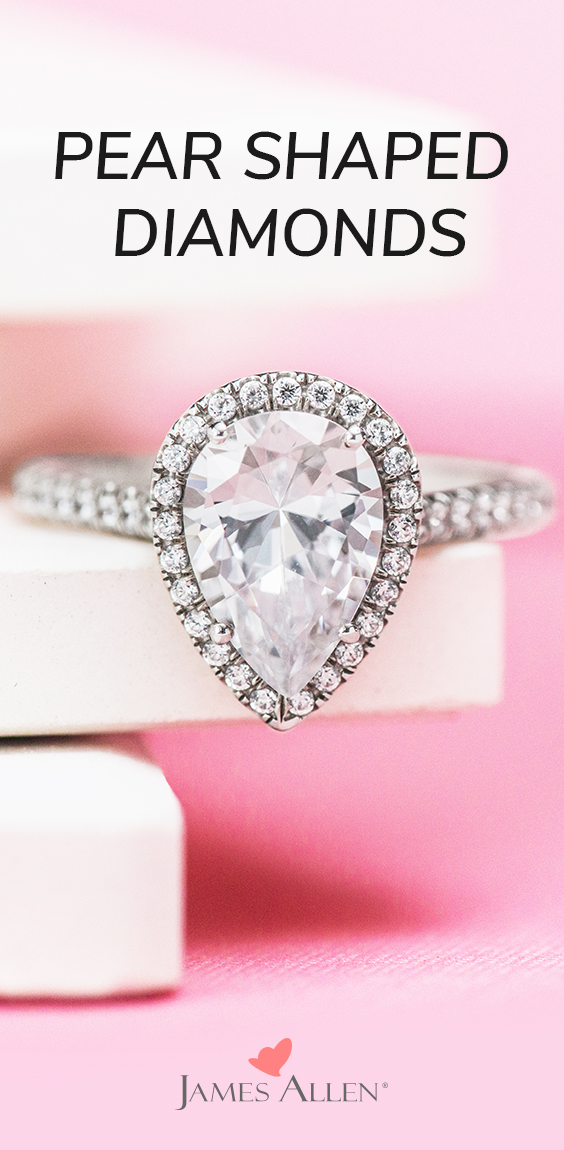 pear shaped diamonds pinterest pin