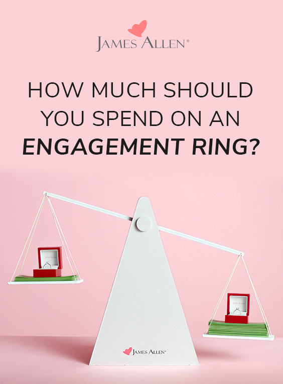 how much to spend on an engagement ring pin pinterest