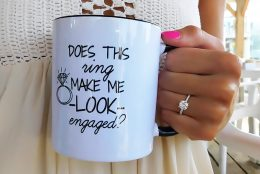 Cup O' Glow: The Coffee-Flavored Ring Selfie