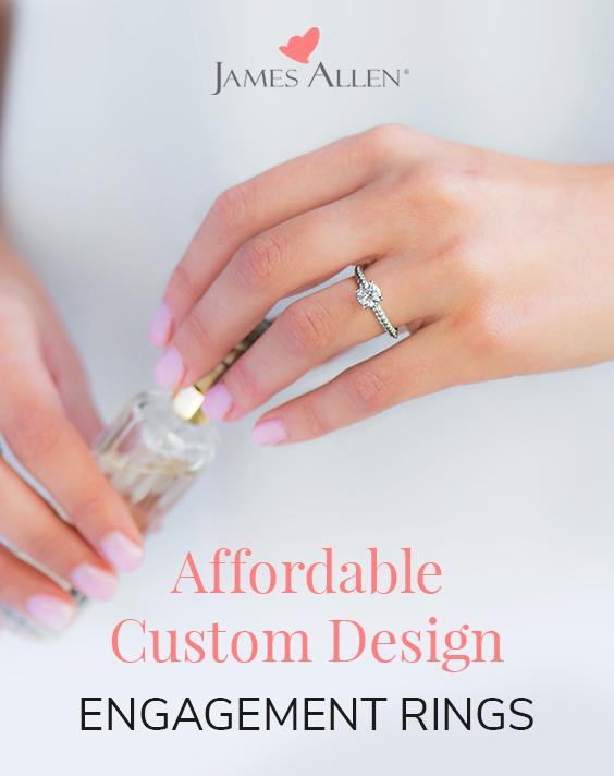 diamond custom engagement rings under $3,000 pin pinterest