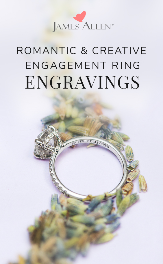 engagement ring engraving pin pinterest