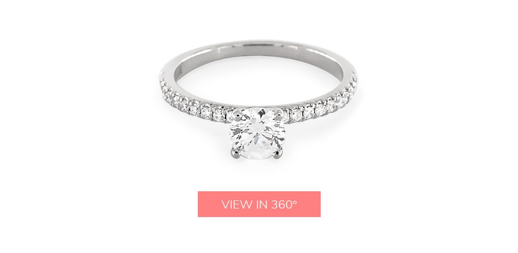 pave custom engagement rings under $3,000