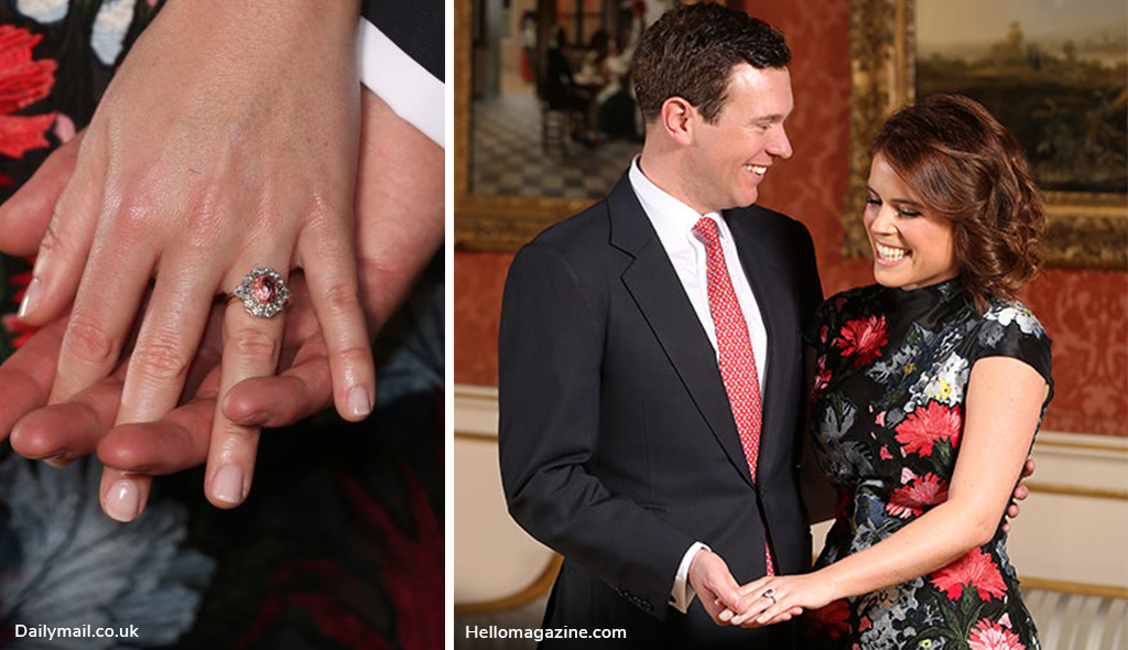 royal engagement rings eugenie wedding 2018