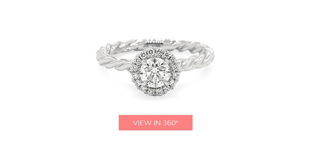 twist halo custom engagement rings under $3,000