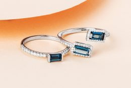 Cool Blue Topaz: the December Birthstone