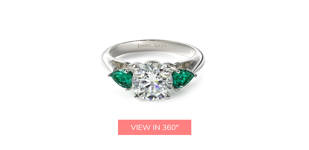 emerald gemstone engagement ring trends 2019