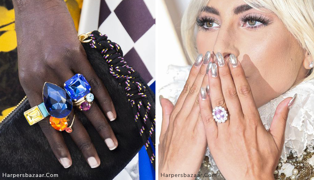 engagement ring trends 2019 lady gaga runway