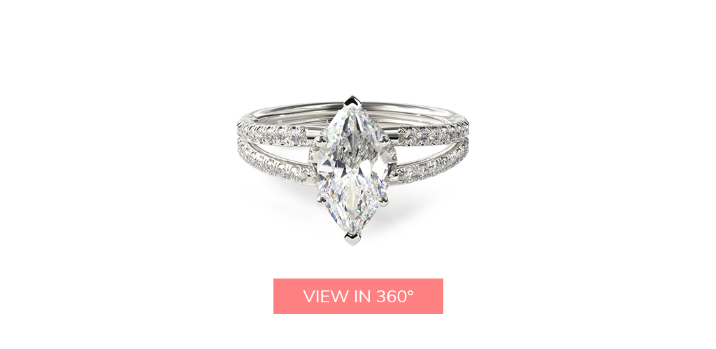 split shank marquise engagement ring trends 2019