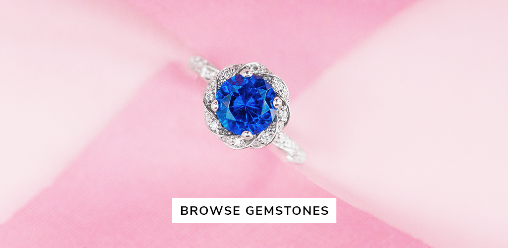 unique engagement rings gemstones
