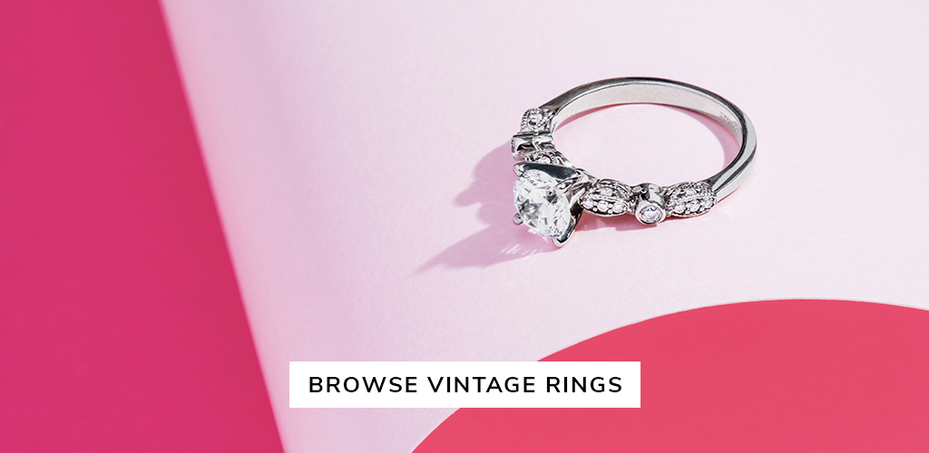 unique engagement rings vintage