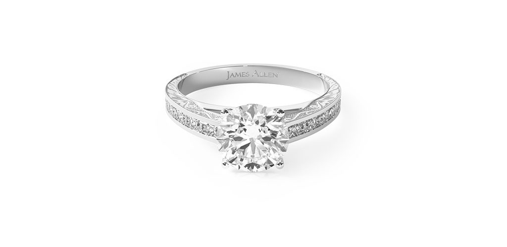 channel set engagement rings for active lifestyles