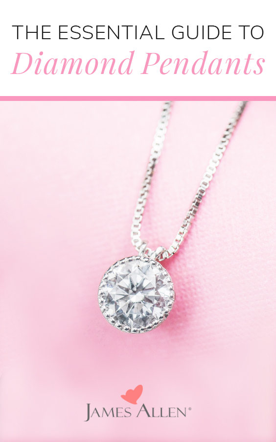 diamond pendants essential guide pinterest pin