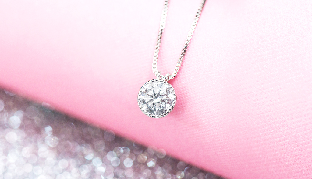 diamond pendants milgrain bezel pendant cover