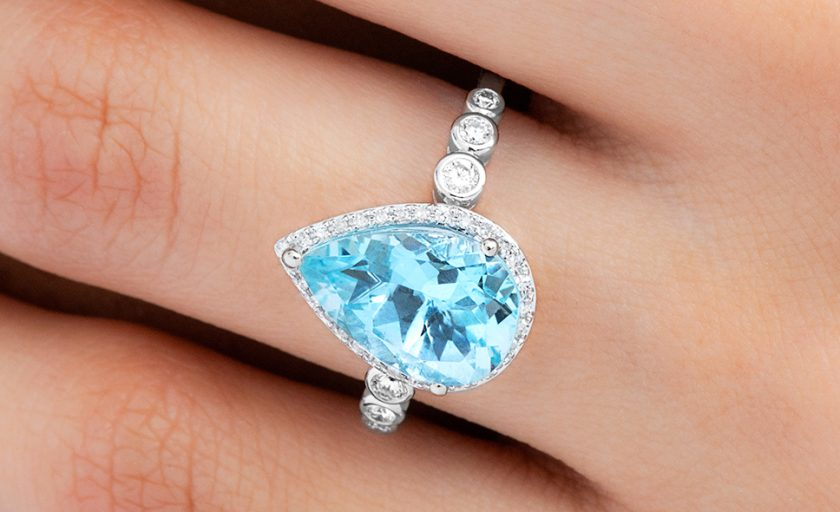 Fresh Aquamarine: the March Birthstone