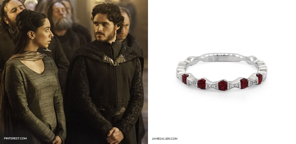 game of thrones jewelry red wedding ring