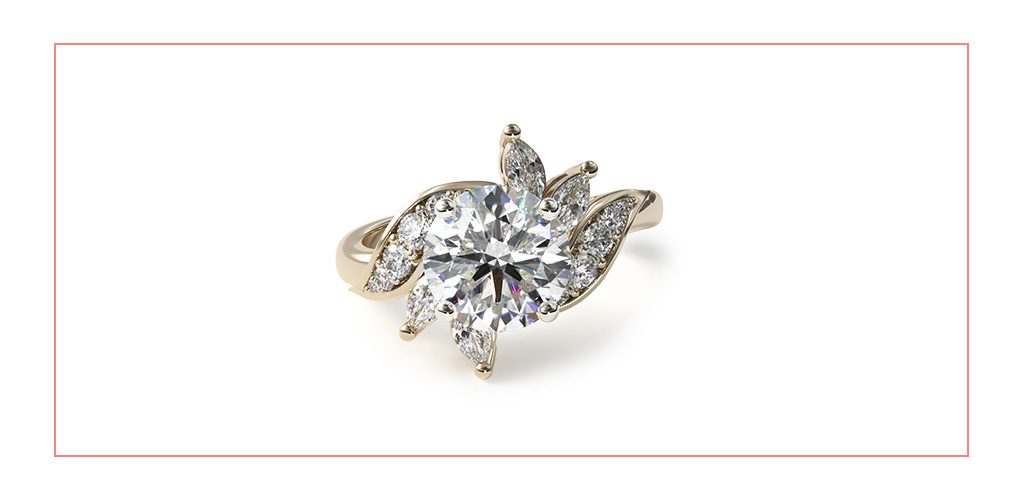 bird of paradise vintage style engagement ring reviews