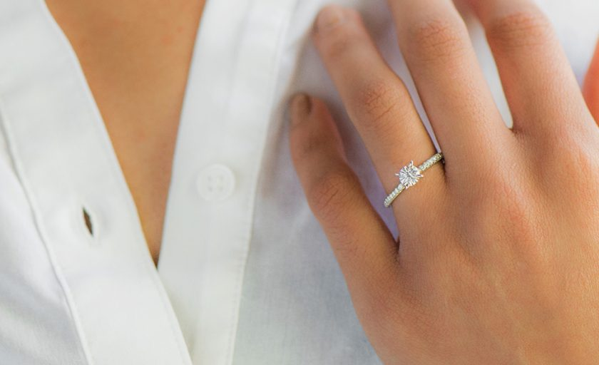 Small Engagement Rings: Life's Little Luxuries