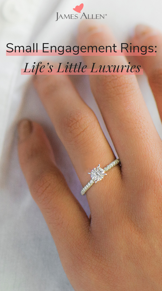 small engagement rings diamond pin pinterest