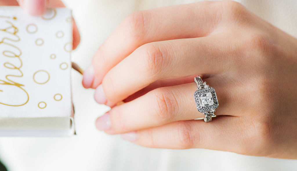 vintage style engagement ring reviews