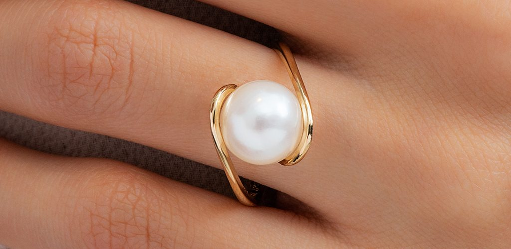june pearl birthstone jewelry gifts modern twist ring