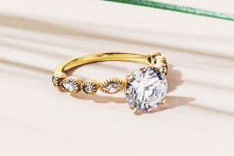 Trending Yellow Gold Engagement Rings