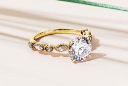 Trending Yellow Gold Engagement Rings