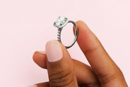 A Match Made In Heaven: Cushion-Cut Halo Engagement Rings