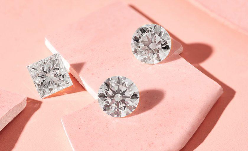 Lab-Created Diamonds vs. Moissanite