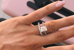 A Slice Of Clarity: Emerald-Cut Diamond Pavé Engagement Rings