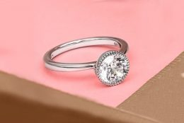 Bezel-Set Engagement Rings: Into the Groove