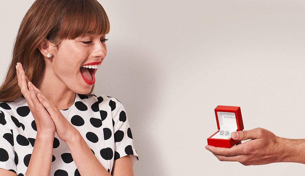 James Allen's engagement ring
